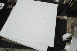 Outlet vloertegels - Quartz Composiet Wit - Restpartij