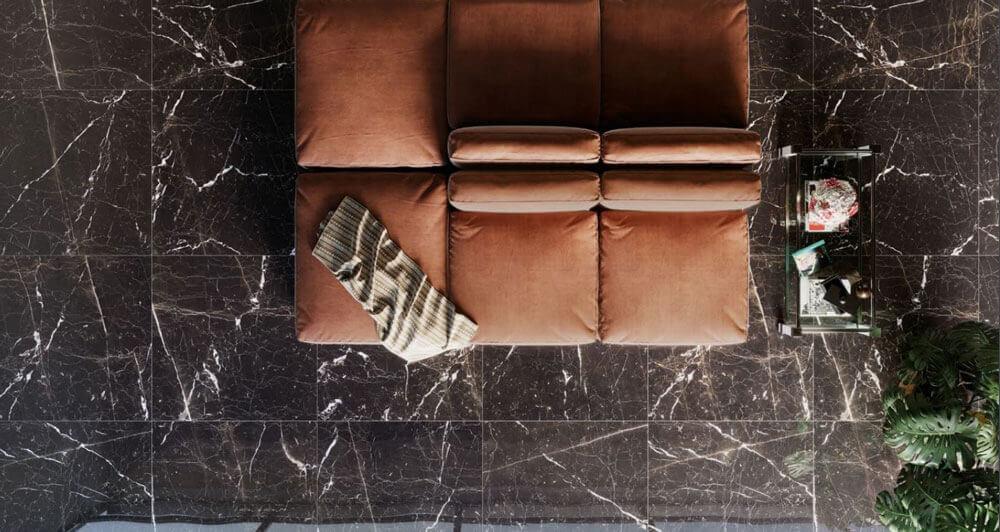 Gepolijste vloertegels - To Be Marble Portoro - Lux