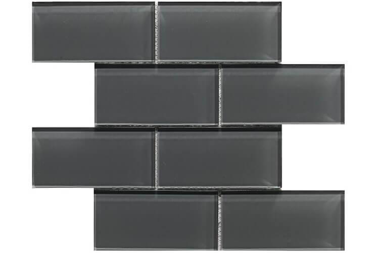 Zwarte wandtegels - Metro Graphite