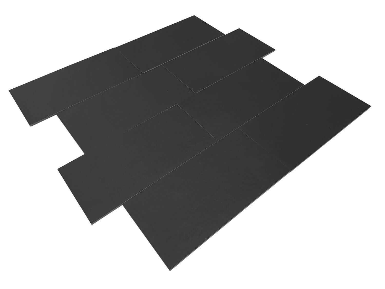 Wandtegels Leisteen Look - Magic Black