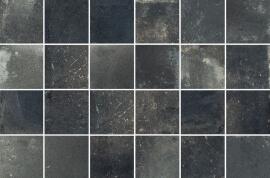 Wandtegels Metaal Look - Vox Black mozaïek