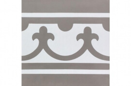 Vloertegels op kleur - Den Bosch - Randstuk recht