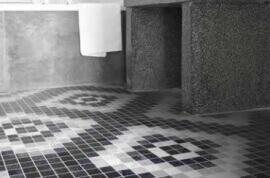 Vloertegels hal- en gang - Byron Mosaico A-Dark