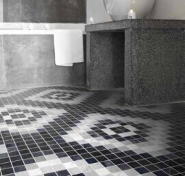 Portugese keramische wandtegels - Byron Mosaico A-Dark