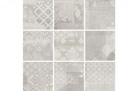 Gesso Pearl Grey Decoro Patchwork