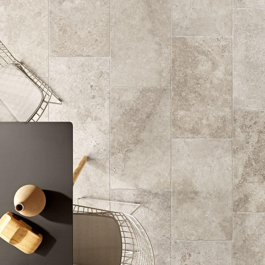 Wandtegels 40x80 - Sénanque Argent