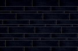 Stroken 1 cm dik - Rak Gems Black Mix