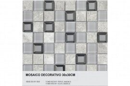 Keramische Mozaiek - Keops Gris