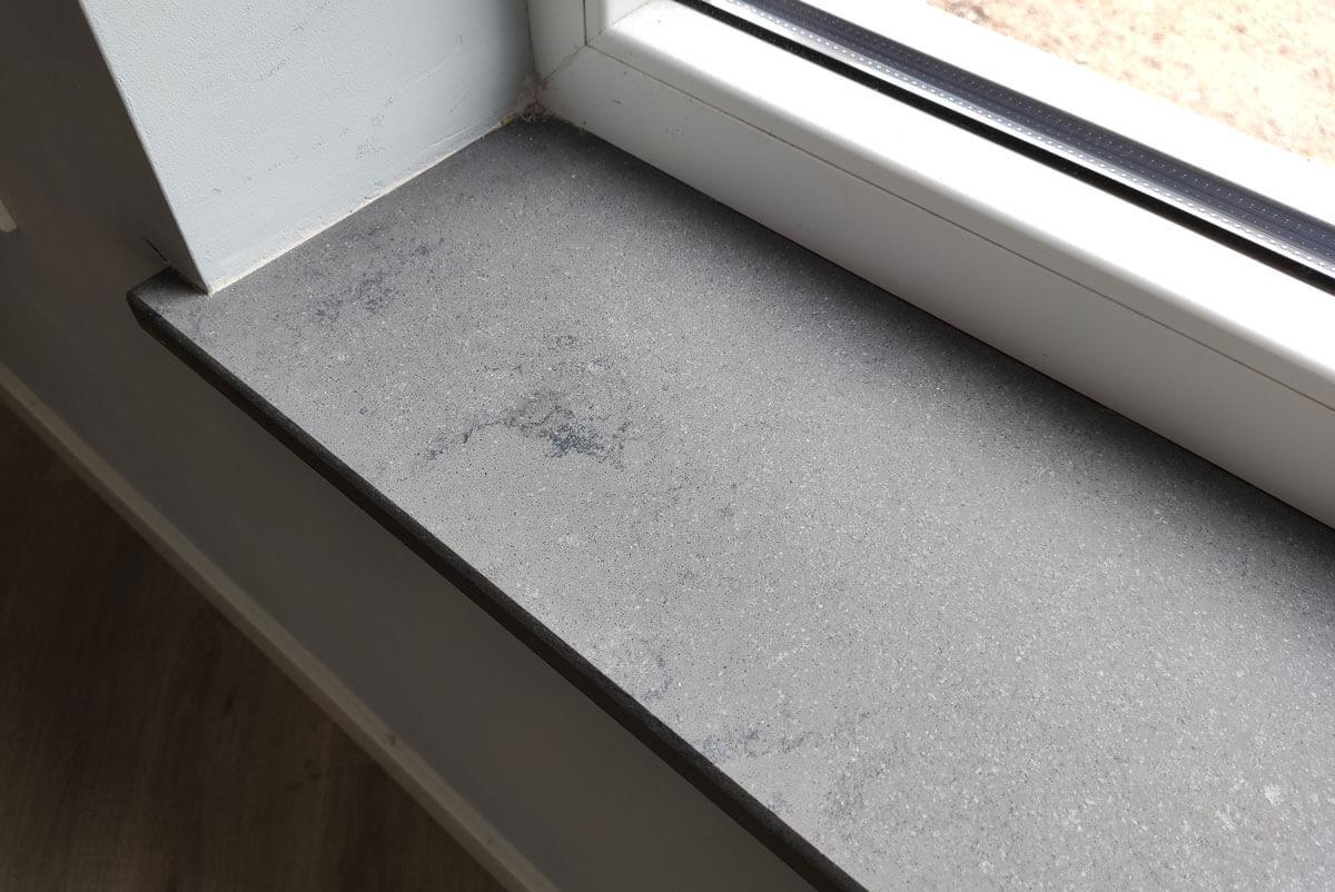 Kwartscomposiet vensterbanken - Concreto Kwartscomposiet Vensterbank