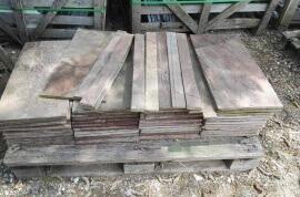 Bruine vloertegels - Kwartsiet Multicolor - Restpartij