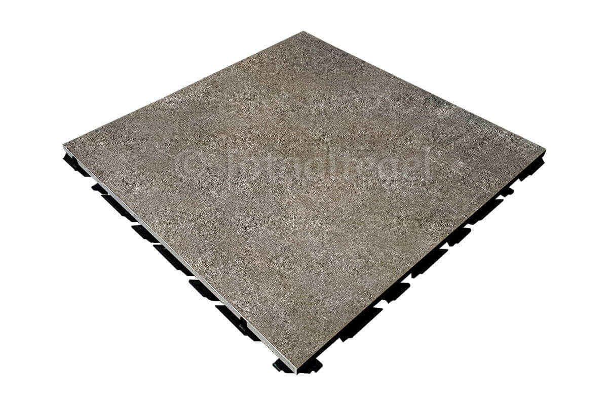 Waterdoorlatende terrastegels - X1 Concrete Dark Grey