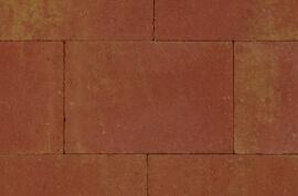 Betontegels 40x30 - Straksteen Terracotta / Geel