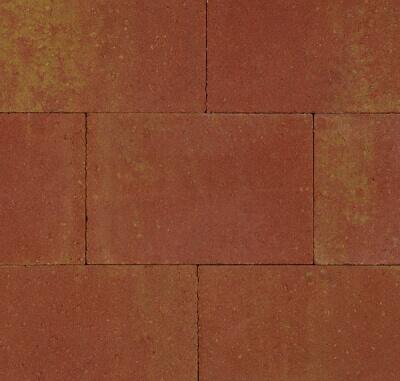 Betontegels 30x40 - Straksteen Terracotta / Geel