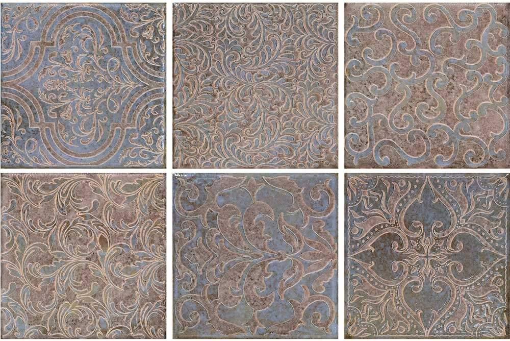Wandtegels 15x15 - Majoliche Glicine Lenzi Mix