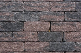 Tuin & bestrating - Wallblock Tumbled Brons