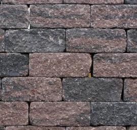 Wallblock Tumbled Brons