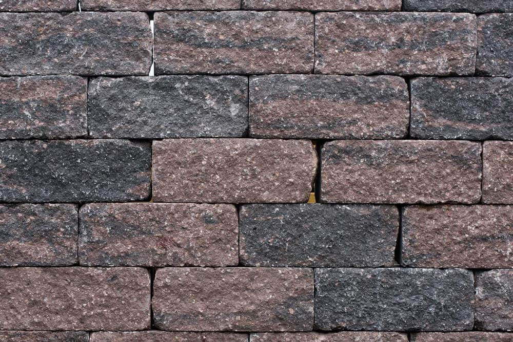 Stapelblokken - Wallblock Tumbled Brons