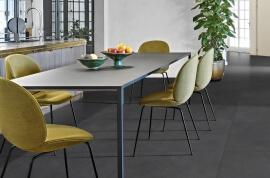 Vloertegels betonlook 30x60 cm - Blake Nero