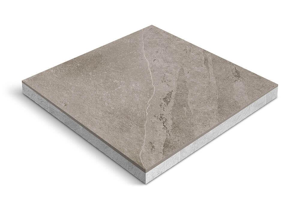 Keramiek op beton - CeraDeco Slate Piombo