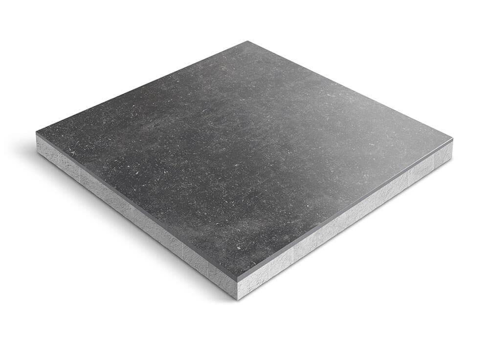 Keramiek op beton - CeraDeco Belga Nero