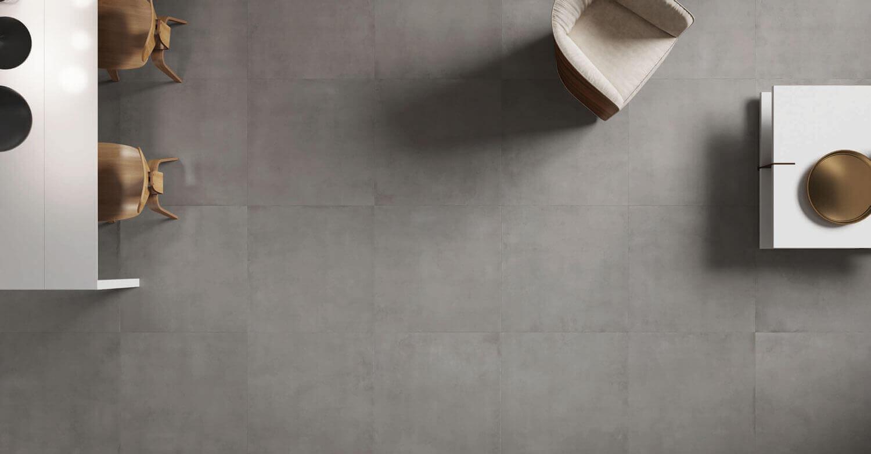 Vloertegels betonlook 100x100 cm - Infinity Concrete