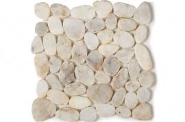 Keramische Mozaiek - Perla Bianco Flat