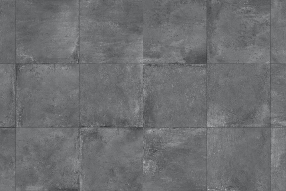 Zwarte terrastegels - Gare Graphite