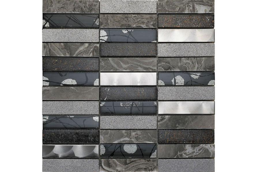 Glas Mozaiek - Artist Grey