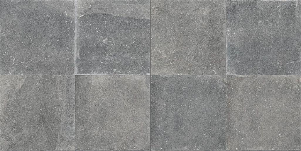 Terrastegels 100x100 - Evolution du Kronos Évo Gris Foncè (Buiten)