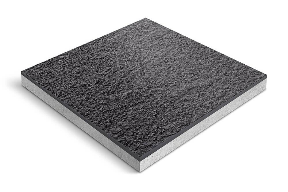 Keramiek op beton - CeraDeco Carbone LUX