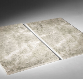 Wandtegels 60x90 - Kera New Cloud Grey Gepolijst