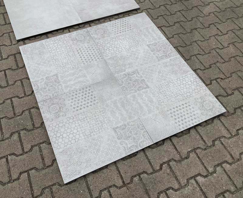 Moderne terrastegels - Terra Modus Decor Grey