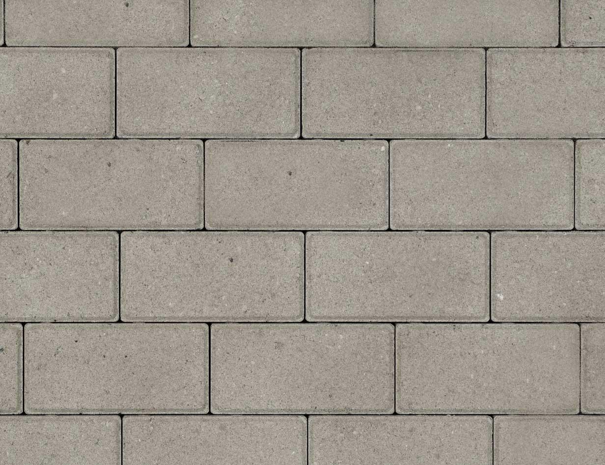 Betonbestrating - Betonstraatsteen Grijs