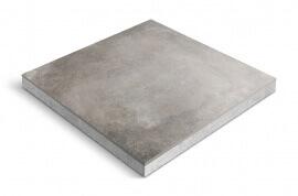 Keramiek op beton - CeraDeco Cemento Rubigo