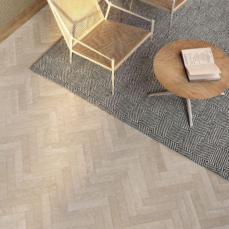 Vloertegels 80x80 - Thecourt Taupe