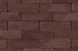 Betonbestrating - Sierbestrating Trommel Waalformaat Gebakken Bruin