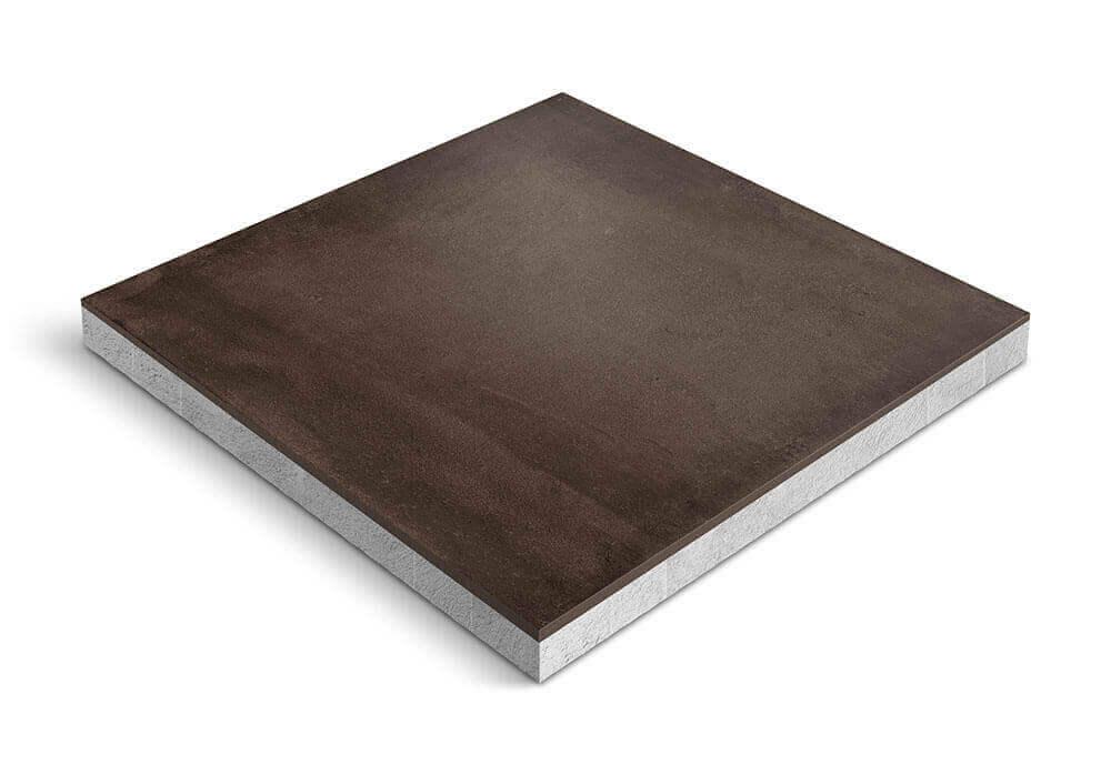 Keramiek op beton - CeraDeco Cemento Marrone