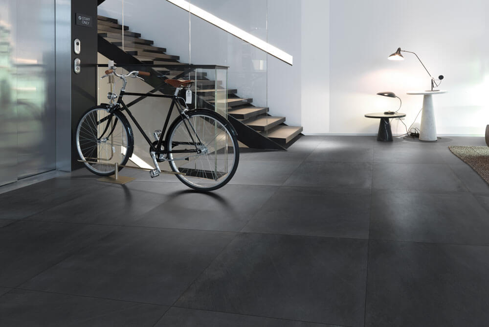 Basalt Look vloertegels - Mark Black
