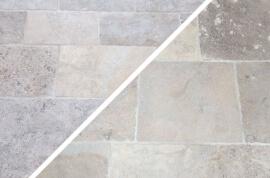 Vloertegels banenverband x 40 cm - Vieux Mélanger - Franse Dallen