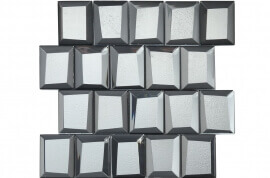 Keramische Mozaiek - Luxor Silver
