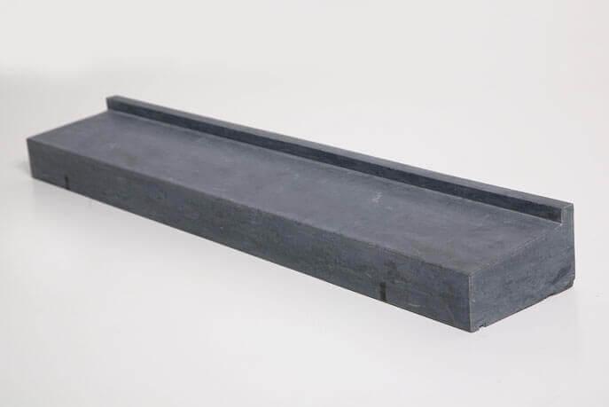 Natuursteen raamdorpels - Hardsteen Blue Cloud Raamdorpel LICHT GEZOET - 17,5 x 9 cm
