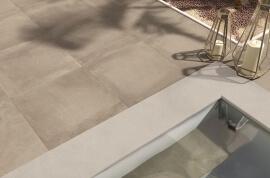 Keramiek op beton - CeraDeco Cemento Fangoso