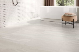 Wandtegels 90x180 - Via Appia Vein Cut White