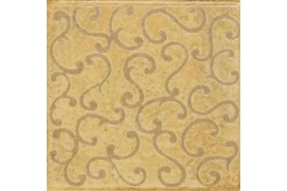 Vloertegels patroon - Majoliche Senape Lenzi Arabescato