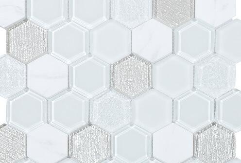 Keramische Mozaiek - Nomad White