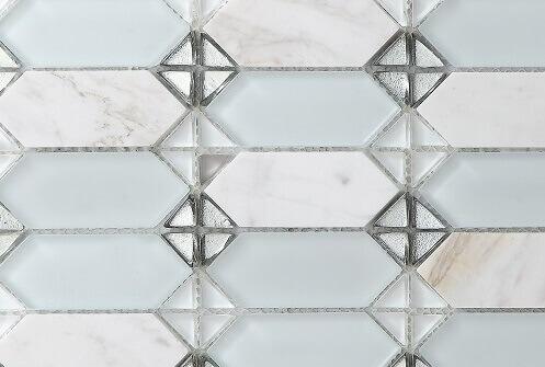 Keramische Mozaiek - Classic White