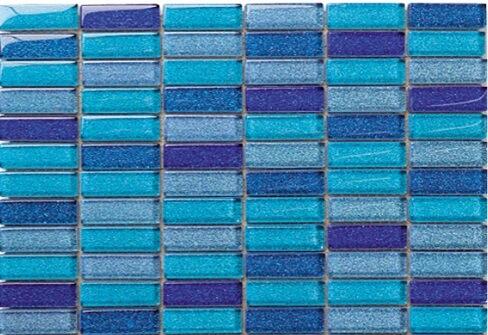Glas Mozaiek - Deep Blue Sea
