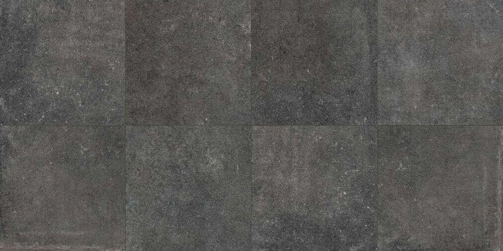 Zwarte vloertegels - Le Reverse Nuit Carved