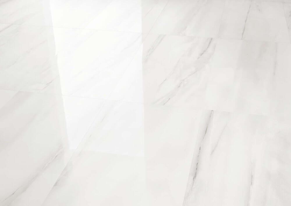 Hoogglans vloertegels - Bianco d'Italia Statuario - Gepolijst