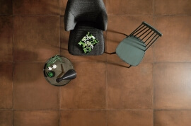 Bruine vloertegels - Terraviva Mattone